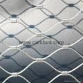 供應不鏽鋼壓扣鋼絲繩網 2