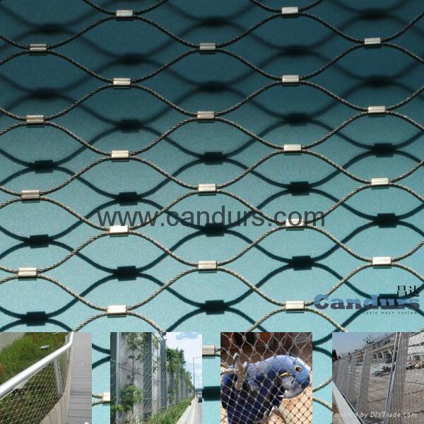 动物园防腐防锈不锈钢绳网 2
