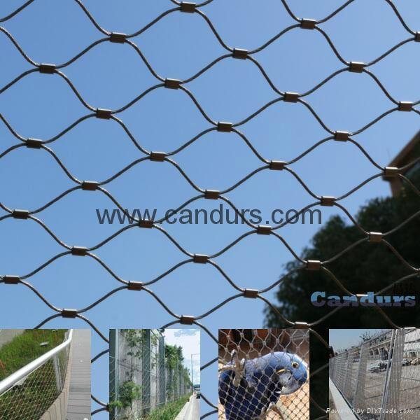 动物园防腐防锈不锈钢绳网 3