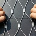 不锈钢卡扣钢丝绳网片 3