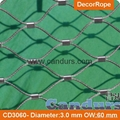 美標316不鏽鋼絲繩套環網 5
