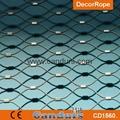 室内防坠落装饰不锈钢柔性护栏网 3