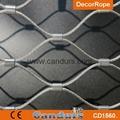 1.5毫米不锈钢丝绳扣网护栏 3