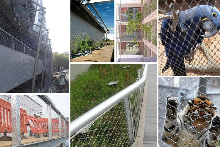 Stainless Steel Rope Safety Net Manufacturer China-Candurs