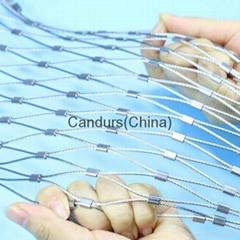 不锈钢丝绳套环网