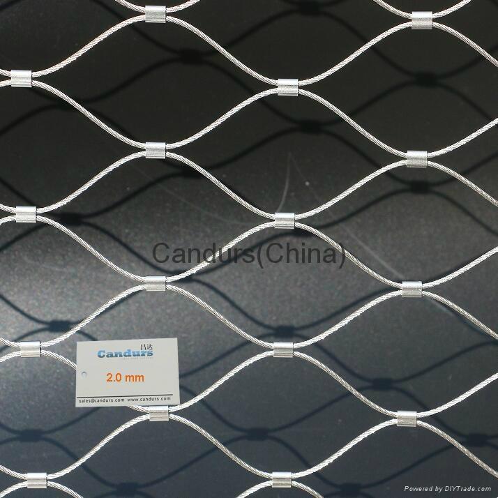 不鏽鋼絲繩扣網 7