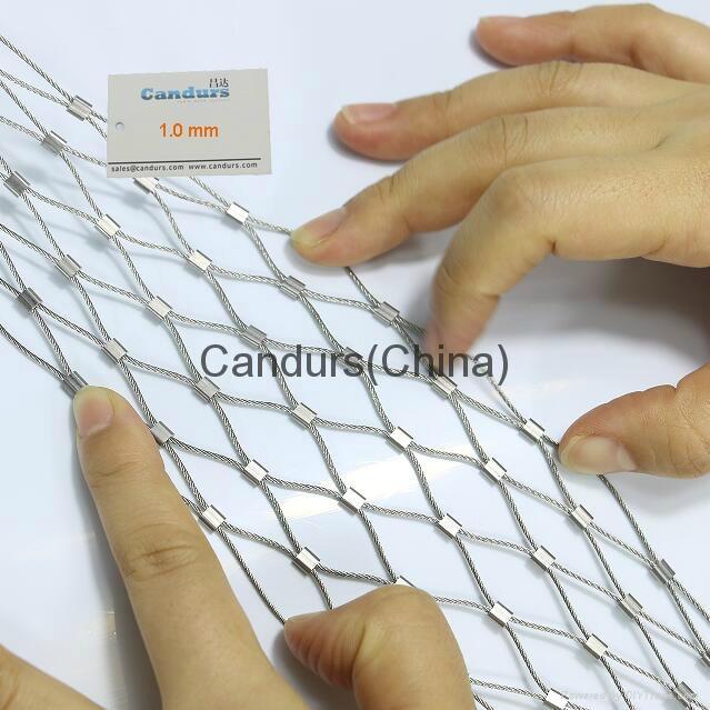不鏽鋼絲繩扣網 6