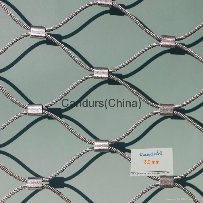 不鏽鋼絲繩扣網 8