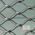 不锈钢丝绳扣网 8