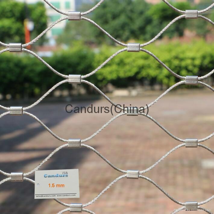 不鏽鋼絲繩扣網 9