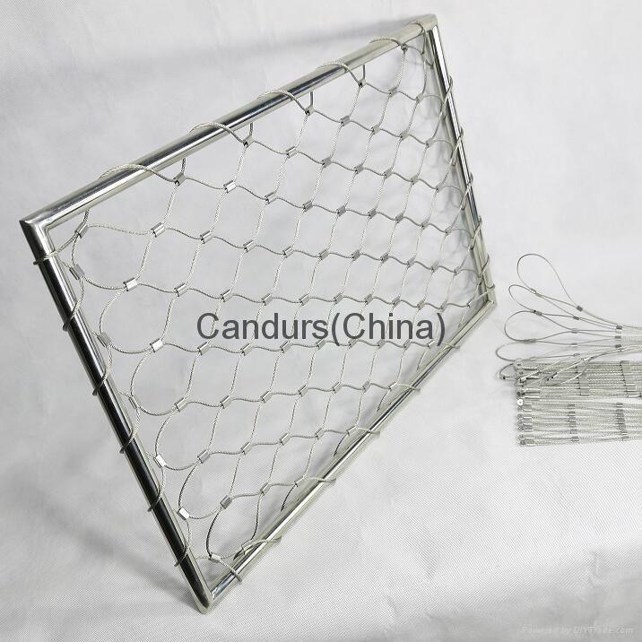 X Tend Flexible Stainless Steel Cable (Rope) Mesh 4