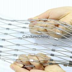 交織柔性不鏽鋼絲繩網