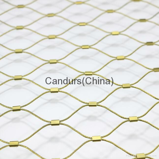 Flexible Rope Fence Panel For Security - DecorRope - Candurs (China ...