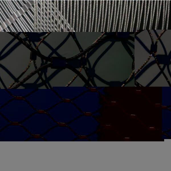 柔性不锈钢丝绳防护网片 4