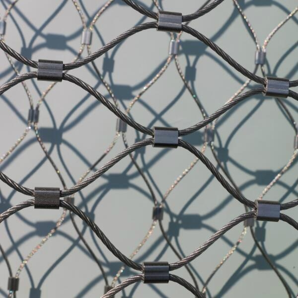 柔性不鏽鋼絲繩防護網片 6