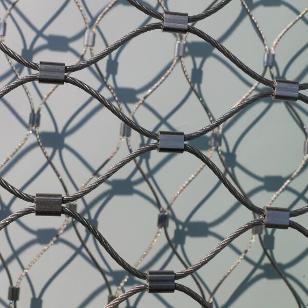 柔性不锈钢丝绳防护网片 6