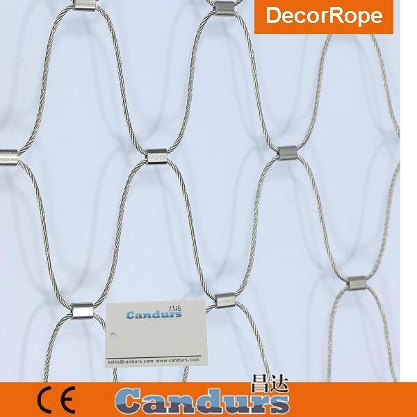 绿墙不锈钢绳网 3