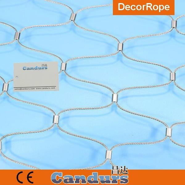 绿墙不锈钢绳网 6