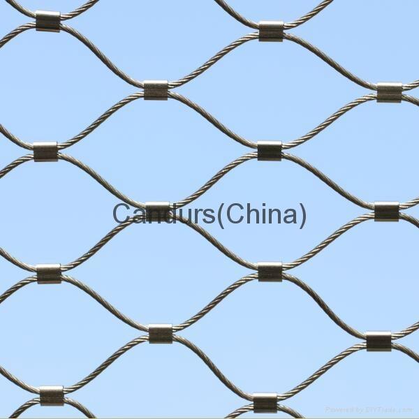 不锈钢楼梯边缘防护网 2