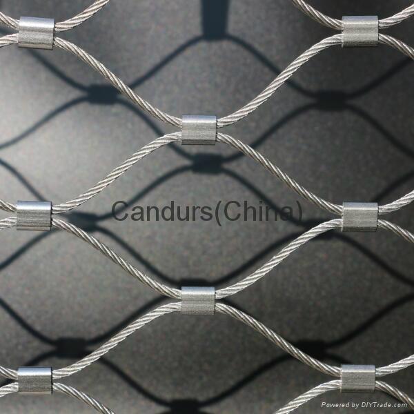 不鏽鋼樓梯邊緣防護網 4