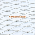 2.0mm 100 mm Mesh 316 Flexible Stainless Steel Wire Cable Mesh
