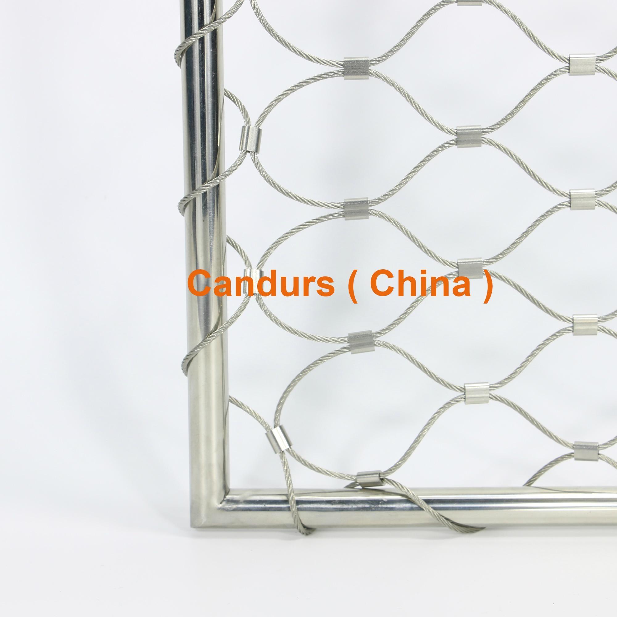 专业小孔径钢丝绳网 7