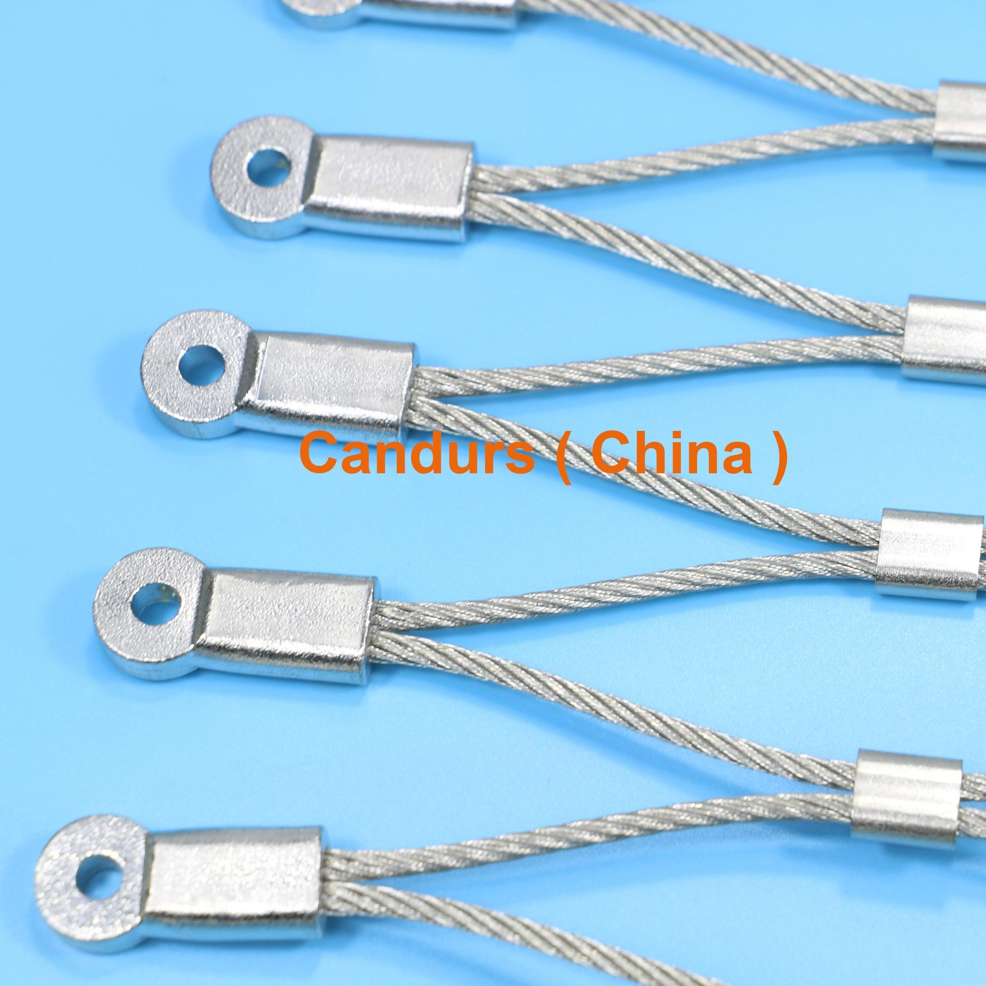 专业小孔径钢丝绳网 8