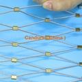專業小孔徑鋼絲繩網 9