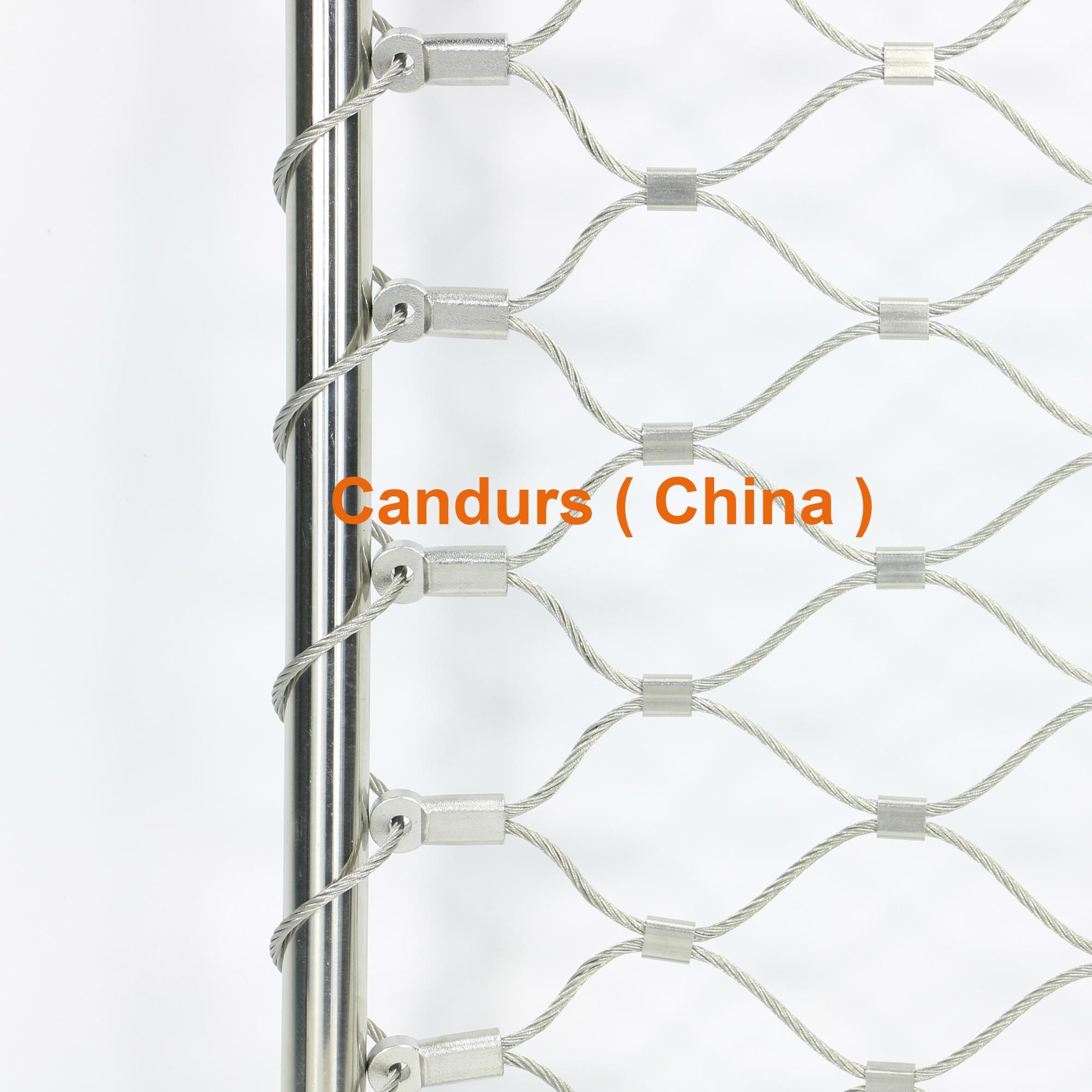 边框不锈钢丝绳网 3
