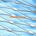 Inox Steel Ferrule Wire Rope Mesh For
