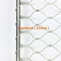 柔性不锈钢扶手栏杆防护网 5