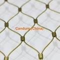 柔性不锈钢扶手栏杆防护网 6