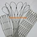 柔性不锈钢扶手栏杆防护网 11