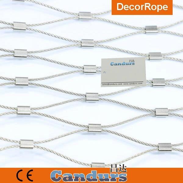 优质不锈钢绳绿植攀爬网 4