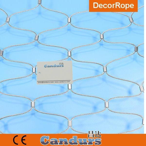 优质不锈钢绳绿植攀爬网 5