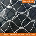 不鏽鋼絲繩森林隔離網 7