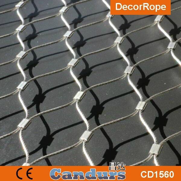 园林装饰钢丝绳网 6