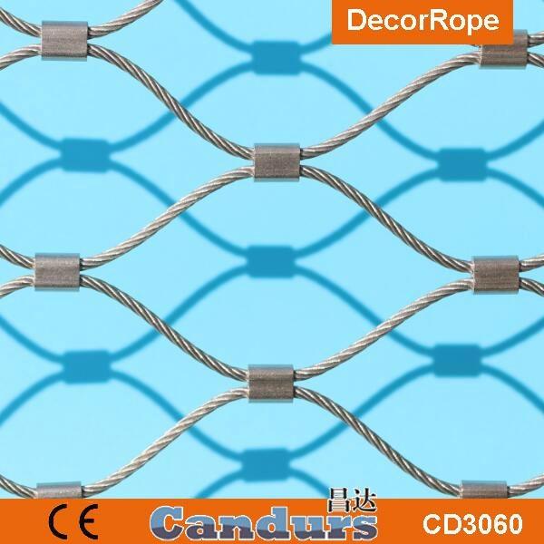柔性安全鋼絲繩網 2