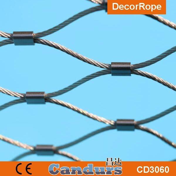 柔性安全鋼絲繩網 3