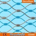 供應不鏽鋼壓扣鋼絲繩網 3
