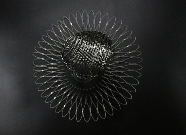 不锈钢绳楼梯装饰网 3