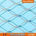 不锈钢绳楼梯装饰网 5