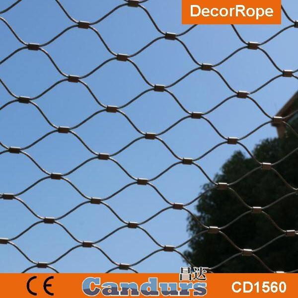 不锈钢绳楼梯装饰网 7