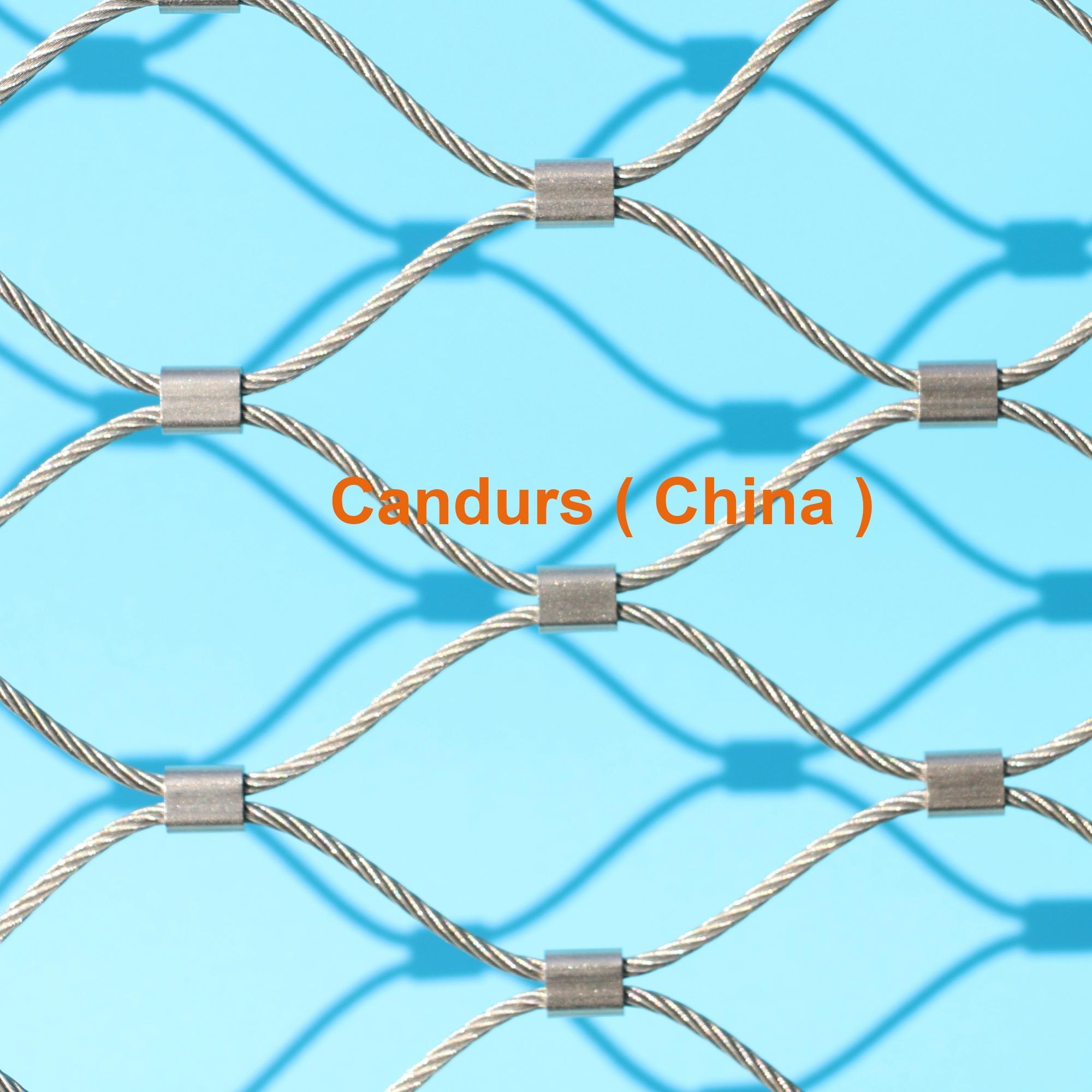 不锈钢丝绳耐用楼梯防护安全网 4