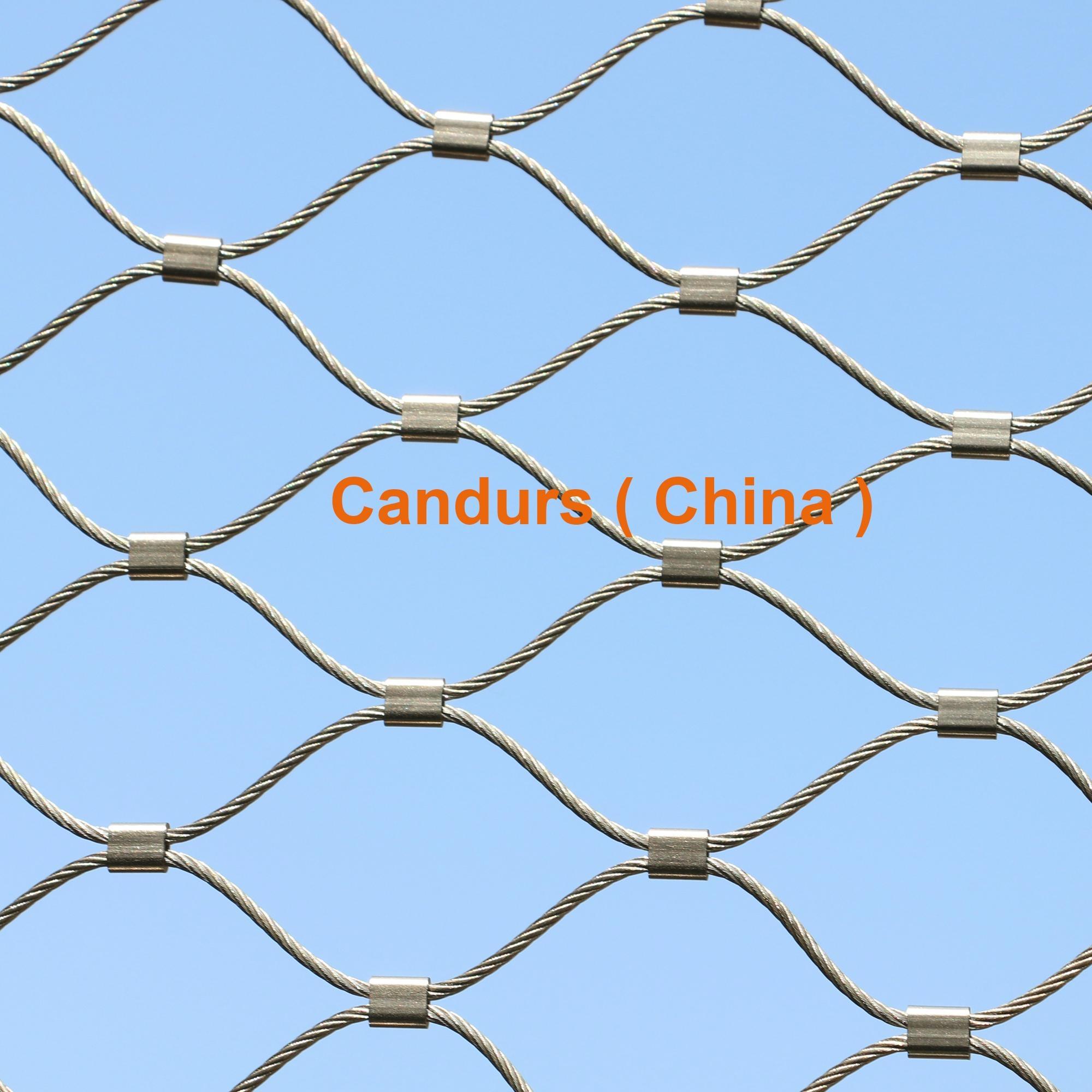 不锈钢丝绳耐用楼梯防护安全网 6