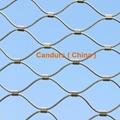 不鏽鋼絲繩耐用樓梯防護安全網 6