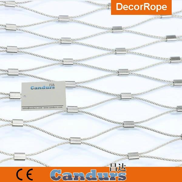 不鏽鋼絲繩菱形安全網 3