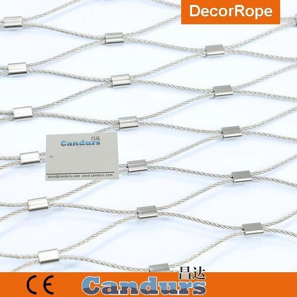 不鏽鋼裝飾園林繩網 4