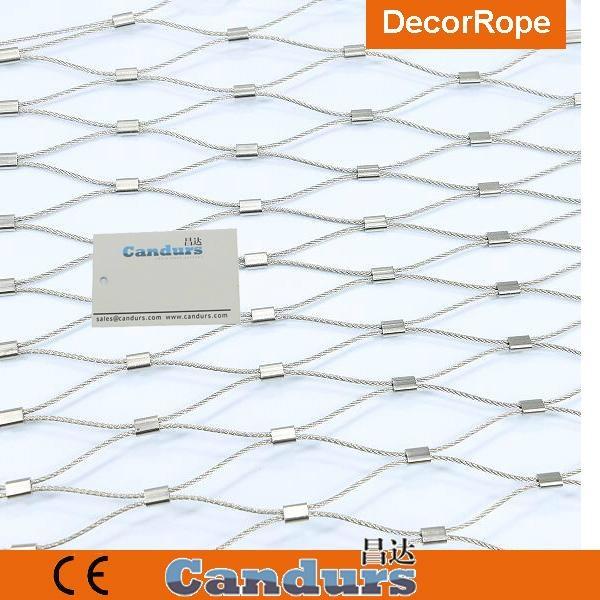 不锈钢装饰园林绳网 6