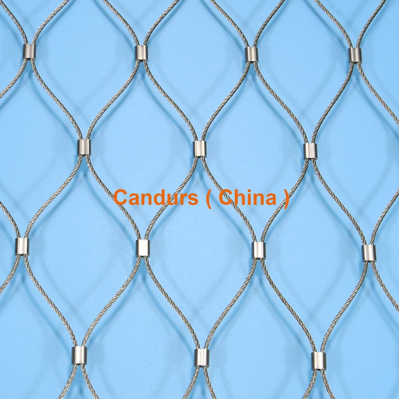 相框不锈钢丝绳网 3